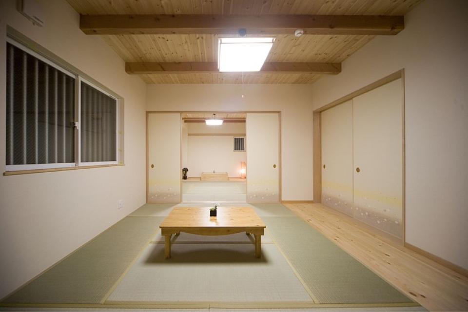 集会場に使われる和室のある2世帯住宅の写真3