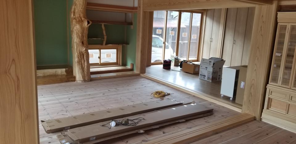 日本従来の伝統住宅。の写真2