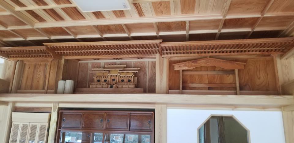 日本従来の伝統住宅。の写真3