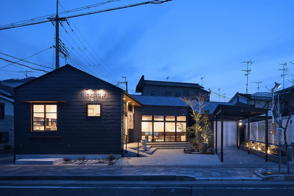 嵯峨嵐山のカフェの写真1