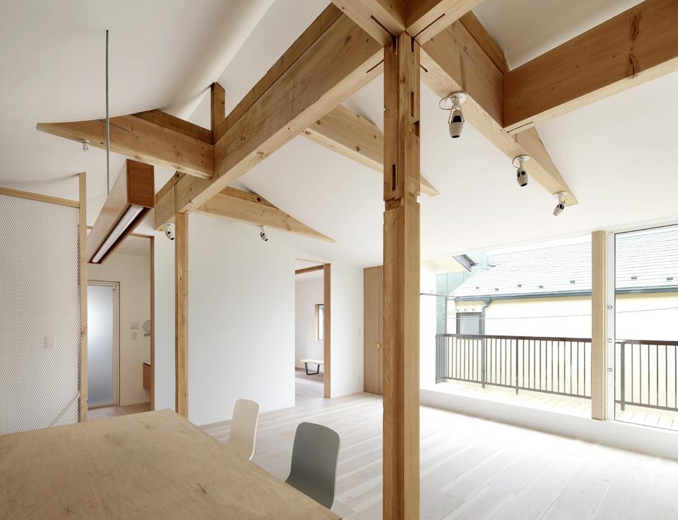 多世代が安心して暮らせる住宅 - 改修、耐震、断熱、採光改善の写真4