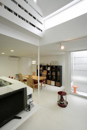 半地下とルーフテラスの都市型住宅 目黒区M邸の写真5