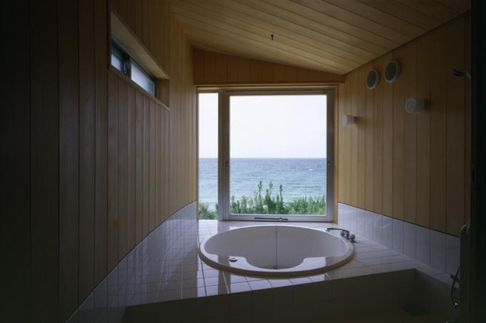 暖炉と大階段のある海辺の別荘 室津・海の家の写真9