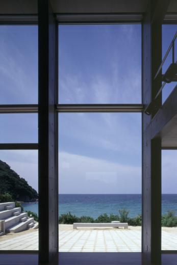 暖炉と大階段のある海辺の別荘 室津・海の家の写真12