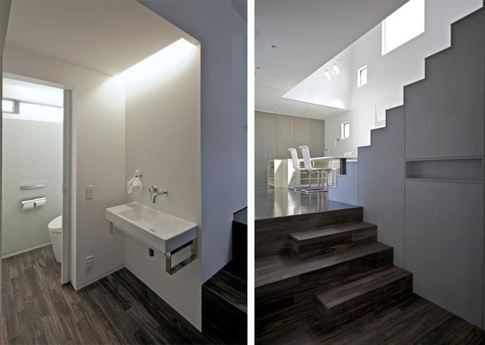 LとDKを大階段でつなぐ住まい 西新小岩T邸の写真3
