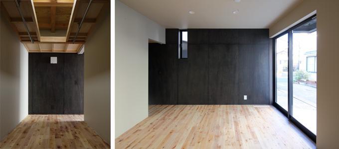 回遊性とコントラストにこだわった狭小住宅 浦安H邸の写真9