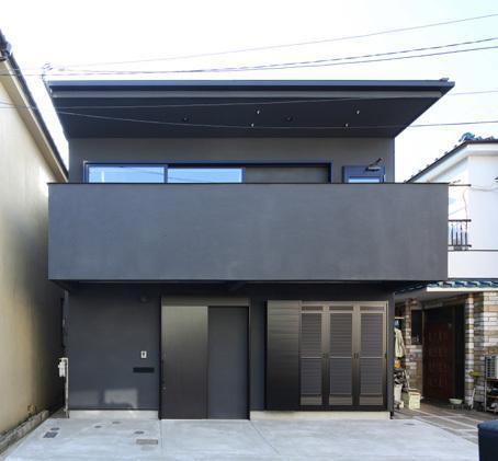 回遊性とコントラストにこだわった狭小住宅 浦安H邸の写真1