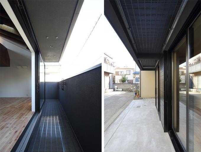 回遊性とコントラストにこだわった狭小住宅 浦安H邸の写真5