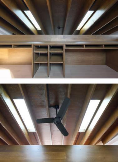 回遊性とコントラストにこだわった狭小住宅 浦安H邸の写真6