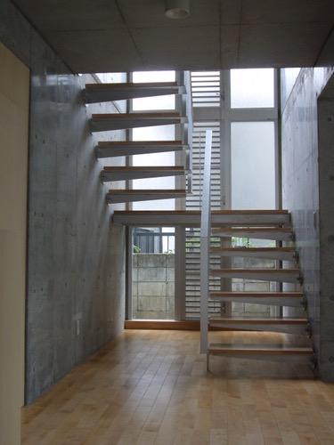ギャラリーのある二世帯住宅の写真9