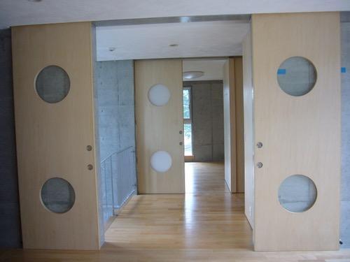 ギャラリーのある二世帯住宅の写真13