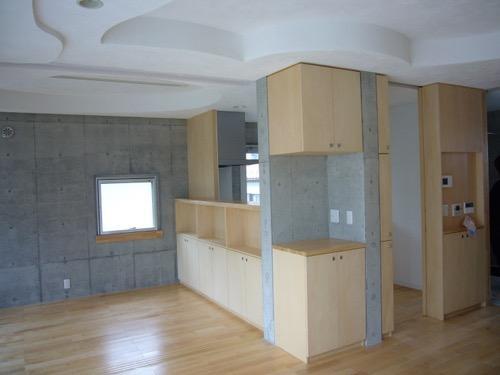 ギャラリーのある二世帯住宅の写真16
