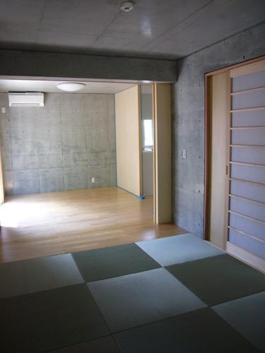 ギャラリーのある二世帯住宅の写真7
