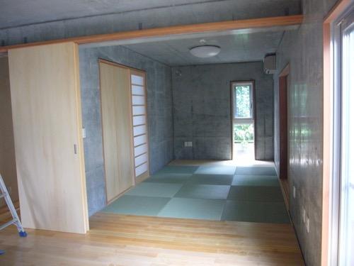 ギャラリーのある二世帯住宅の写真8