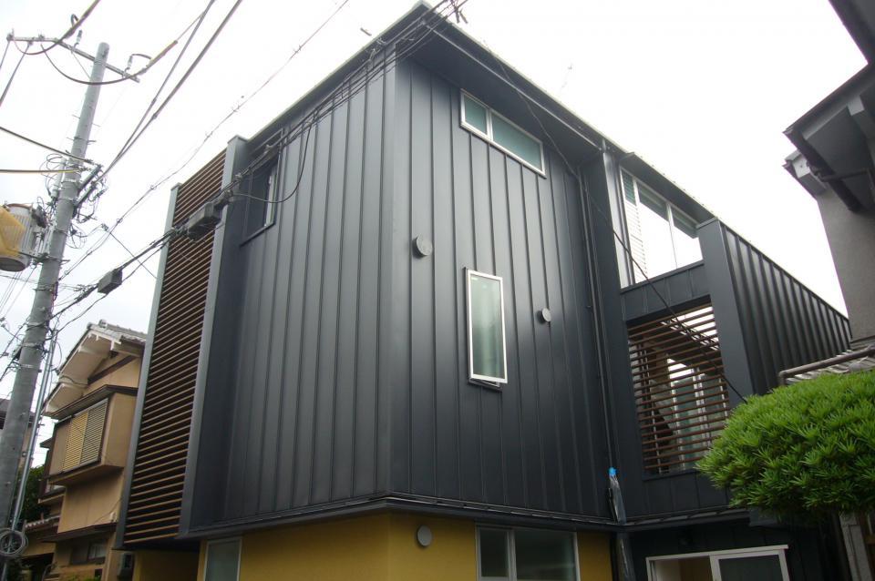 木造三階建て二世帯住宅の写真18