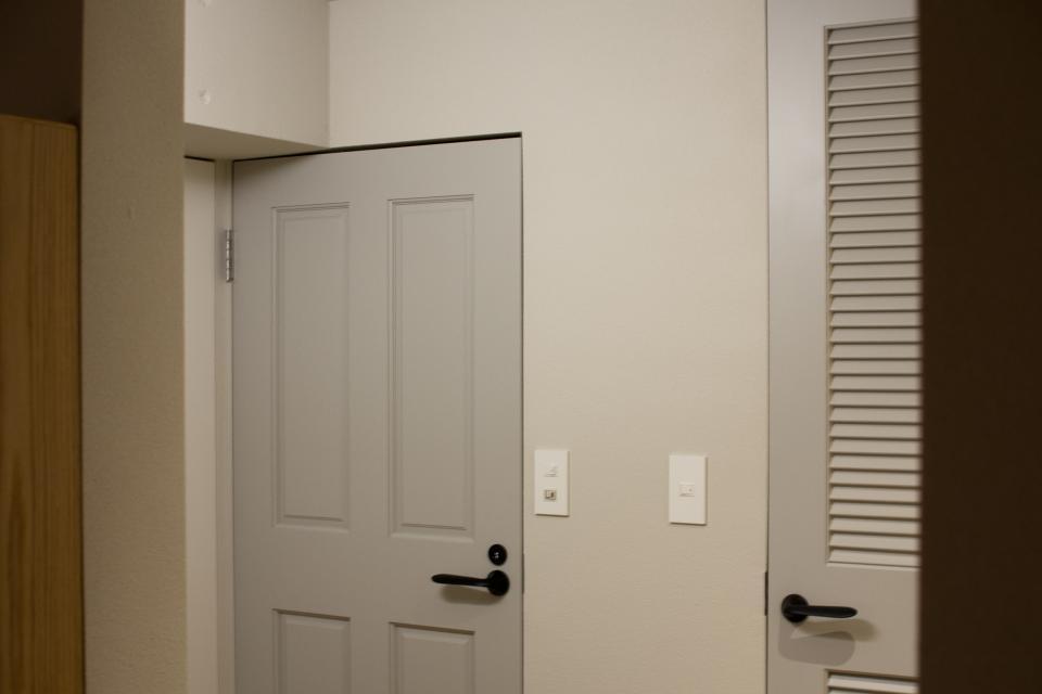 所蔵する本の数が多い家族のマンションのリノベーションの写真12