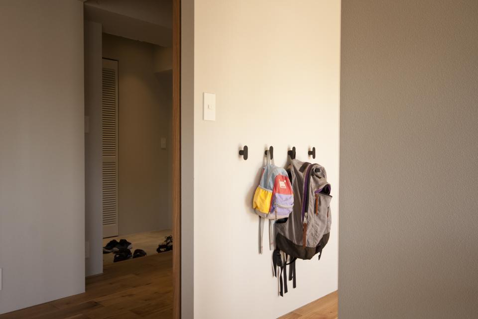 所蔵する本の数が多い家族のマンションのリノベーションの写真14