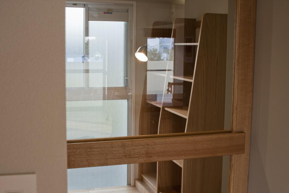 所蔵する本の数が多い家族のマンションのリノベーションの写真7