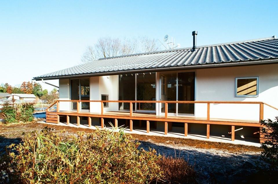 透き抜ける家の写真1